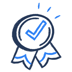 Icon for valid certificate